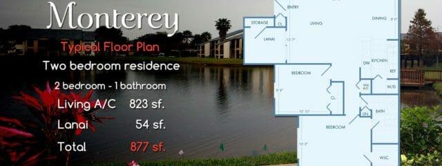 Monterey | 2 Bedroom Resort Condo-Apartment