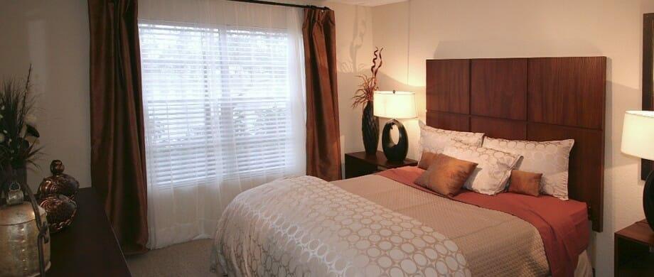 Newport Model Guest Bedroom
