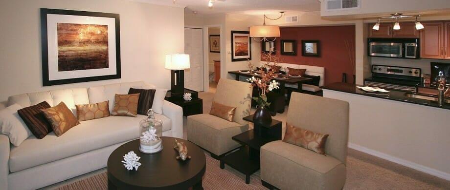 Newport Model Living Room